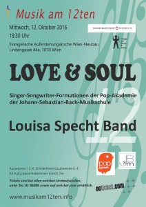Plakat_Musik am 12ten 12. Oktober 2016 Love & Soul.cdr